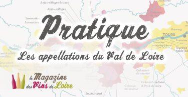 Les Appellations du Val de Loire