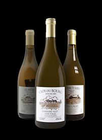 bouteilles vins huet Vouvray