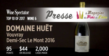 Top 10 Wine Spectator Huët