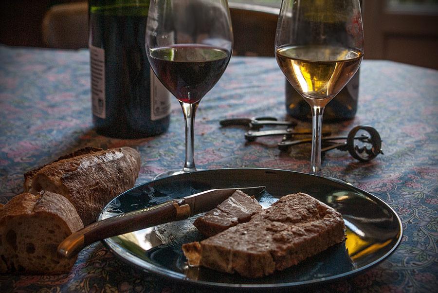 Accompagnement dégustation de vin