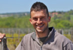 Florent Barichard-Vigneron au domaine des Terres d'ocre