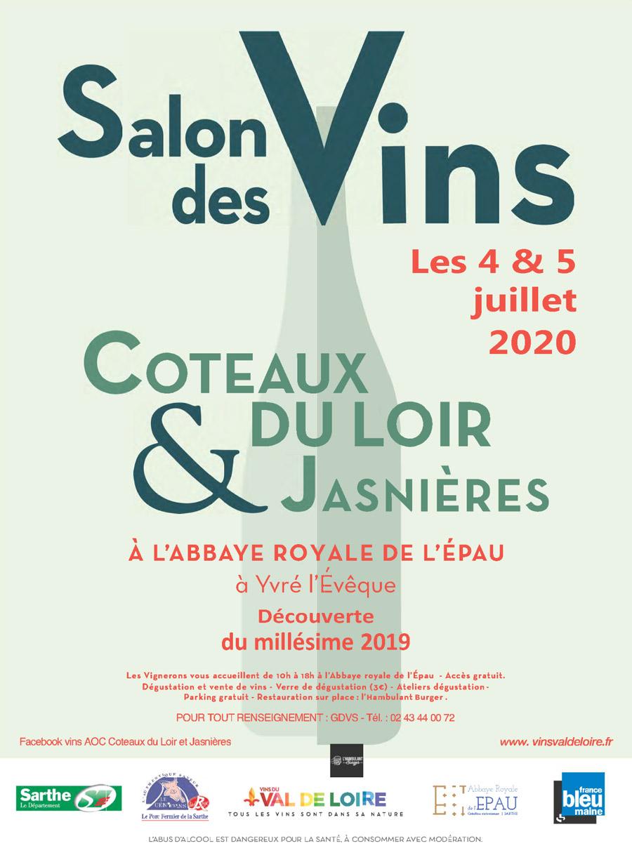 Salon des vins de Coteaux du Loir et Jasnières